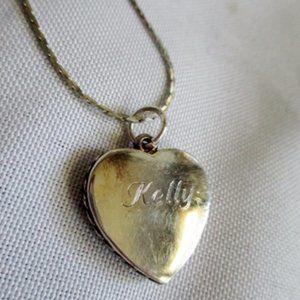 Jewelry - KELLY HEART PENDANT Necklace SILVER LOVE 2009